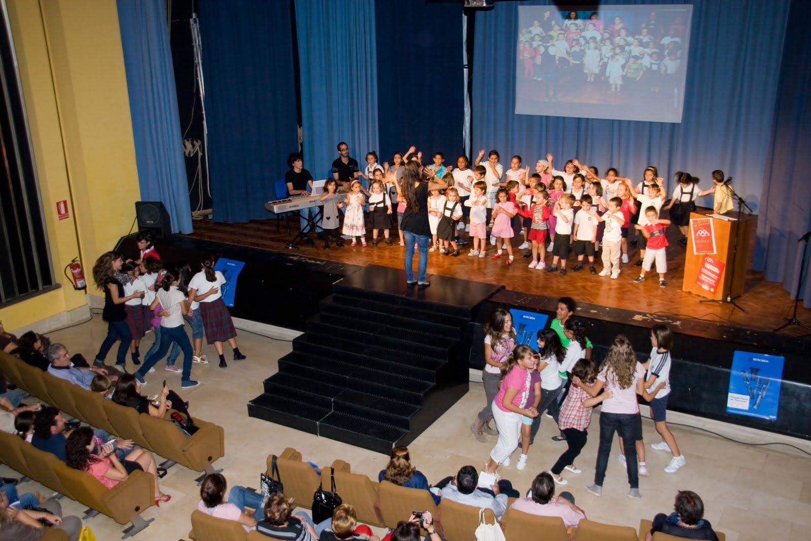 Fotografía durante un concierto en el Ajuntament de Torrent