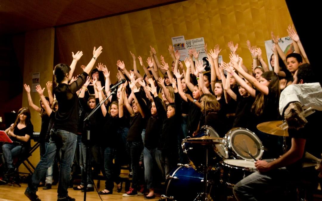 Invitación al concierto de fin de curso 2009-2010