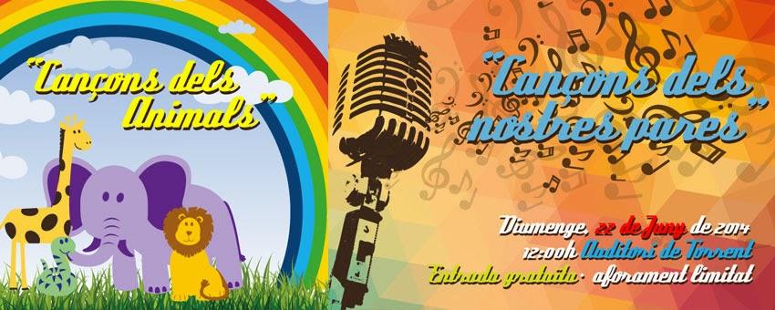 Cançons dels Nostres Xiquets: Concert de fi de curs 2013-2014