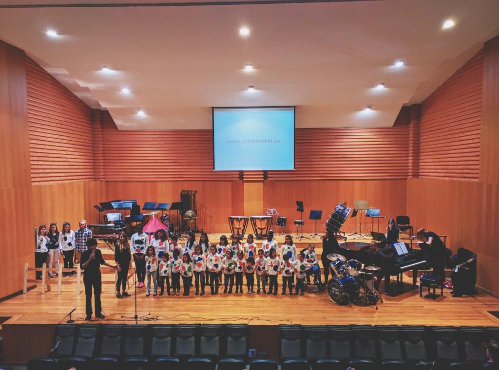 Concert de Florinda al Conservatori José Iturbi de València